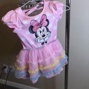 Minnie Mouse Light Pink Tutu Dress